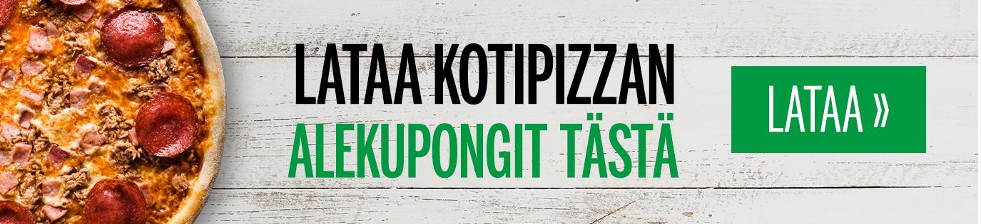 Kotipizza marraskuun kupongit